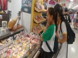 超級市場考察相片
