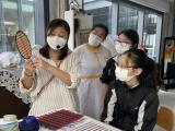 竹扇編織工作坊相片