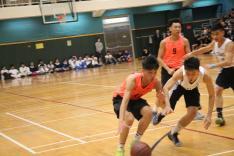 香港學界體育聯會屯門區中學分會中學校際籃球比賽活動相片