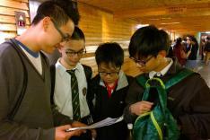 第七屆香港中學數學創意解難比賽活動相片