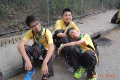 香港童軍總會新界地域慈善步行活動相片