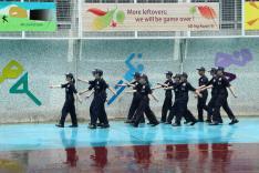 屯門警區機靈計劃 - 機靈步隊結業大匯操活動相片