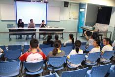 訓導組午間論壇活動相片
