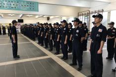 屯門警區機靈部隊2017訓練活動相片