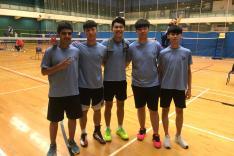 屯門區中學分會校際羽毛球比賽活動相片