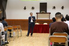 屯門區公民教育委員會青少年講座活動相片