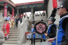 嗇色園黃大仙祠九龍壁綜合大樓落成啟用揭幕典禮活動相片