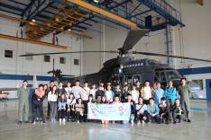 參觀香港國際機場及政府飛行服務隊活動相片