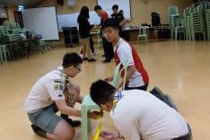 聯校領袖訓練活動相片