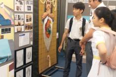 新高中視藝科「作品集」展覽活動相片