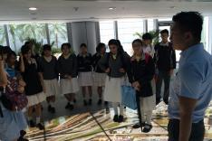 參觀香港民航處活動相片