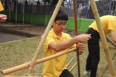 童軍及聖約翰聯隊露營訓練活動相片