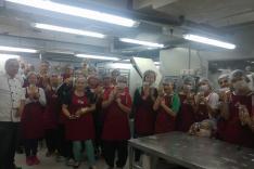 新5餐廠房參觀、試食會及烘焙工作坊活動相片