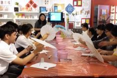 「活字生香──漢字的世界 世界的漢字」漢字文化體驗展活動相片