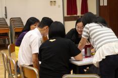 教師發展日-周年計劃檢討活動相片
