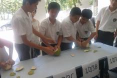 整月餅及搣柚子比賽活動相片
