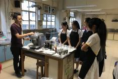 咖啡沖調基礎課程活動相片