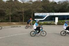 小輪車示範和體驗活動相片