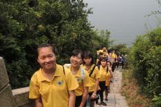 童軍遠足訓練活動相片