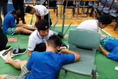 聖約翰救傷隊少青團周年家居護理及急救比賽活動相片