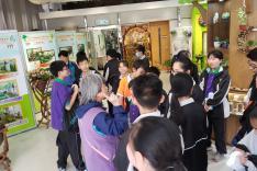 參觀綠化教育資源中心活動相片