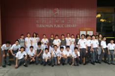 參觀屯門公共圖書館活動相片