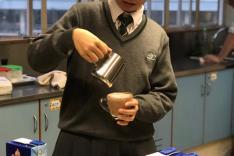 咖啡沖調基礎及調製無酒精飲料課程活動相片