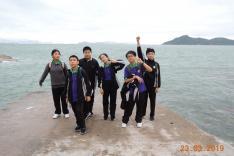 童軍坪洲遠足技能訓練活動相片