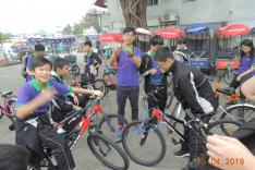 童軍長洲單車專章考核日活動相片