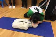 中學生心肺復甦及急救訓練計劃相片