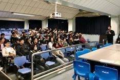 中四學位安排及選科講座相片