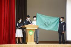 學生會周年會員大會暨幹事會就職典禮、領袖生授章及社員大會相片