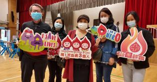 嗇色園100周年捐血活動@可藝中學相片